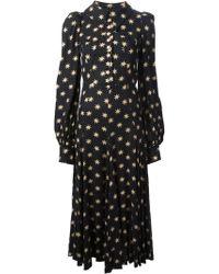Biba | Star Print Maxi Dress | Lyst