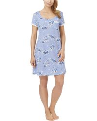 Carole Hochman - Floral Print Sleepshirt - Lyst