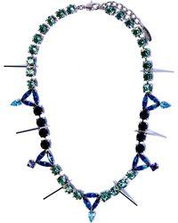 Joomi Lim | Swarovski Crystal Digital Tribe Necklace | Lyst