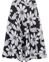 Louche - Mayella Floral Print Skirt - Lyst