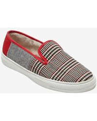 Intermix Online Taise By Souts Plaid Slipon Sneaker - Lyst