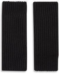 JOSEPH Wool Cardigan Stitch Mittens