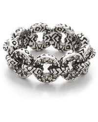 House of Harlow 1960 - Eternal Link Band Ring - Lyst