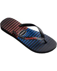 Havaianas Rubber Stripe Thong Sandals - Lyst