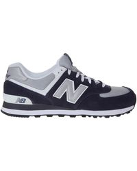 New Balance Suede Sneakers - Lyst