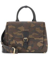 Burberry - Saddle Medium Suede Shoulder Bag - Lyst