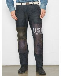 Ralph Lauren Patched Utility Pant - Lyst
