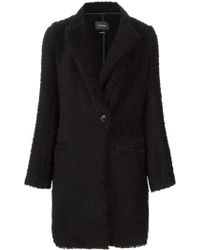 Isabel Marant Black Gloria Coat - Lyst