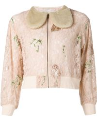 Mikio Sakabe - Embroidered Lace Jacket - Lyst