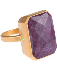Ringly - Wine Bar Smartphone Connected Ring - Lyst