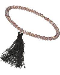 Topshop Beaded Bracelet Bauble - Lyst