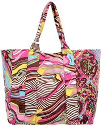 Blumarine - Large Fabric Bag - Lyst