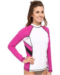 Nike Color Block L/S Hydro Top - Lyst