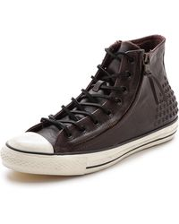 Converse X John Varvatos Chuck Taylor All Star Sneakers with Double Zip - Lyst