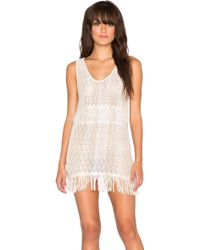 Goddis - Zane Fringed Dress - Lyst