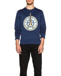 KENZO - Eiffel Tower Cotton-blend Sweatshirt - Lyst