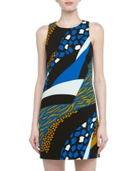 4.collective Sleeveless Cheetah Print Mini Dress - Lyst
