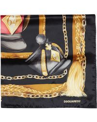 DSquared² Foulard black - Lyst