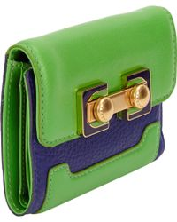 Marc By Marc Jacobs Colorblocked Bobs Memphis Trip Wallet - Lyst