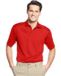 Cutter & Buck - Big And Tall Textured Performance Polo - Lyst