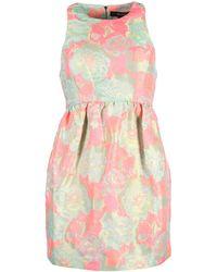 Suno Short Dress - Lyst