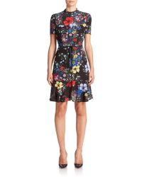 Erdem | Anne Floral Flounce Dress | Lyst