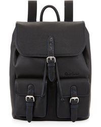 Robert Graham   Johnson Leather Flap-top Backpack   Lyst