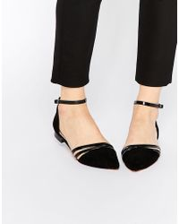 ASOS | Lifestyle Pointed Ballet Flats | Lyst