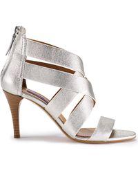 Ralph Lauren Metallic Ardina Sandal - Lyst