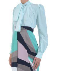 Marcobologna Silk-Shirt - Lyst