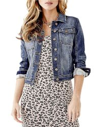 Guess Denim Jacket - Lyst