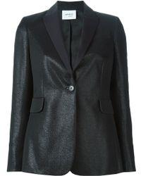 Akris - Shimmery Cotton-Blend Blazer - Lyst