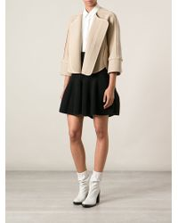 Chloé Short Coat - Lyst