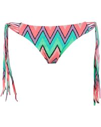 Forever 21 Neon Pop Chevron Bikini Bottom - Lyst