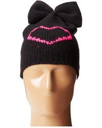 Betsey Johnson Heart Breaker Bew Beanie Hat - Lyst