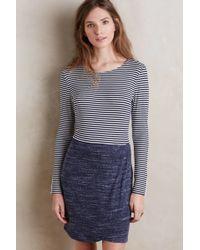 Dolan - Marina Striped Dress, Blue - Lyst