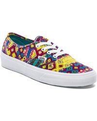 Vans Authentic Sneaker - Lyst