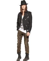 Diesel 18cm Thavar Stretch Cotton Denim Jeans - Lyst