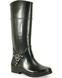 MICHAEL Michael Kors Fulton Harness - Rubber Boot - Lyst