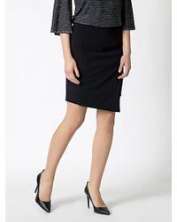 Patrizia Pepe Pencil Skirt in Stretch Fabric - Lyst