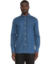 Won Hundred Leon Button Down - Lyst
