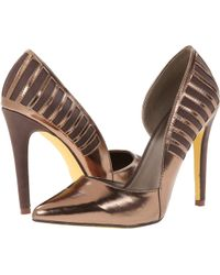 Michael Antonio Gold Lawford Metallic - Lyst