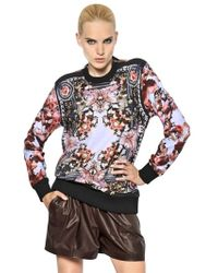 Givenchy Cotton Fleece Sweatshirt - Lyst