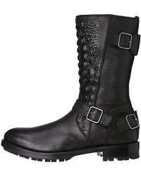 Philipp Plein Black Metal Boot - Lyst
