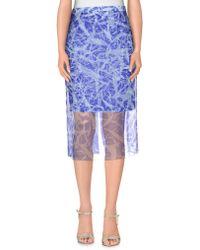 Jonathan Saunders | 3/4 Length Skirt | Lyst