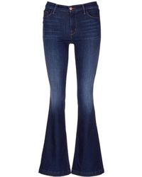 J Brand   'maria Flare' Stretch Denim Jeans   Lyst
