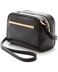 B Brian Atwood Barbara Mini Cross Body Bag Black - Lyst