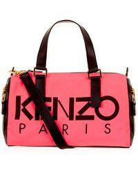 KENZO - Kanvas Bowling Bag - Lyst
