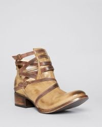 Freebird By Steven Green Booties Stairway - Lyst