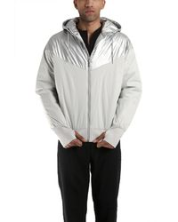Nike Sb Thermore Insulated Silver Jacket - Lyst
